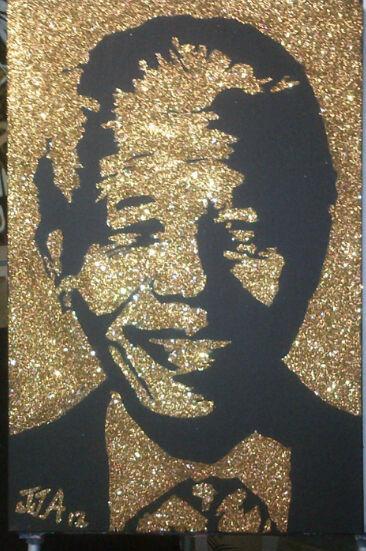Gold MandelaART